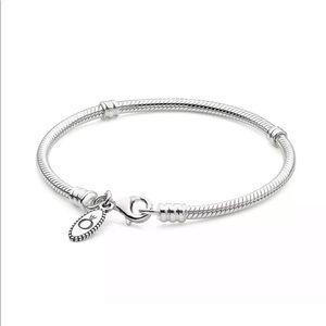 """Pandora lobster clasp bracelet 7.9"""" or 9.1"""""""